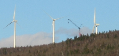 Mars Hill Wind Farm Construction 2006-11-06